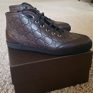 Gucci sneakers in chocolate